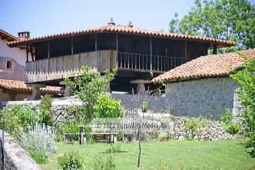 Exteriores. Apartamentos rurales Casería El Hondrigu
