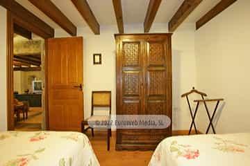Barbacoa. Apartamentos rurales Casería El Hondrigu