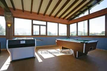 Salón multiusos. Apartamentos rurales La Regatina