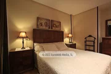 Terraza. Apartamentos turísticos La Pontiga