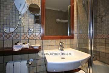 Aparcamiento. Apartamentos turísticos La Pontiga
