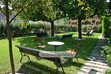 Sala exposición. Apartamentos turísticos La Pontiga