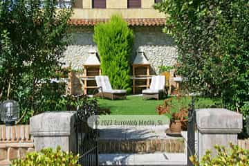Salón 1. Apartamentos turísticos La Pontiga