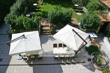 Salón celebraciones. Apartamentos turísticos La Pontiga
