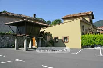 Zonas comunes. Apartamentos turísticos La Pontiga