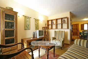 Salón cocina. Casa de aldea Marcelina