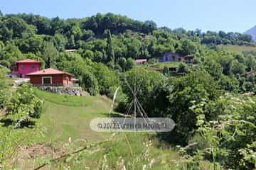Terraza. Apartamentos rurales La Escuela