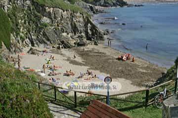 Playa de San Blas o la Ribeiría