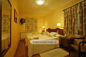 Habitación Miércoles. Hotel La Fonte