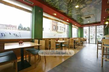 Cafetería. Hotel Prida