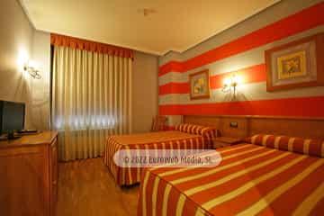 Habitación 1. Hotel Prida