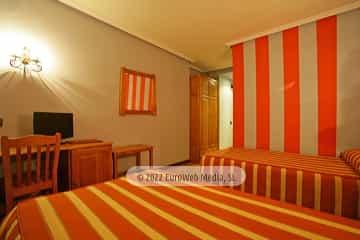 Habitación 2. Hotel Prida