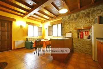 Salón cocina. Casa de aldea So l'Horrín
