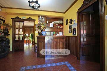 Salón comedor. Hotel rural El Torrejón
