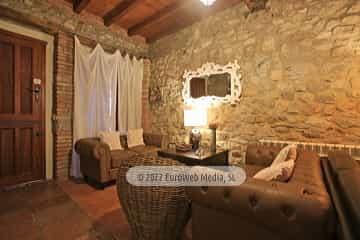 Salón. Casa rural El Juacu