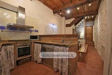 Cocina comedor. Casa rural El Juacu