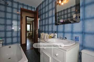 Planta baja: baño 1. Vivienda vacacional Villa Ruiz