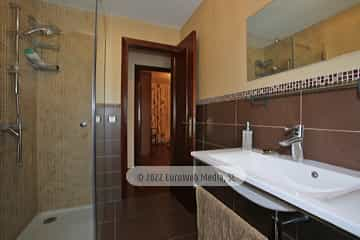 Planta baja: baño 2. Vivienda vacacional Villa Ruiz