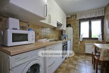 Planta baja: cocina. Vivienda vacacional Villa Ruiz