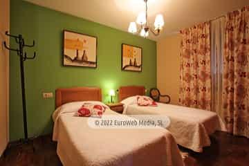Planta baja: habitación 2. Vivienda vacacional Villa Ruiz