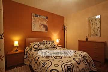 Planta baja: habitación 3. Vivienda vacacional Villa Ruiz