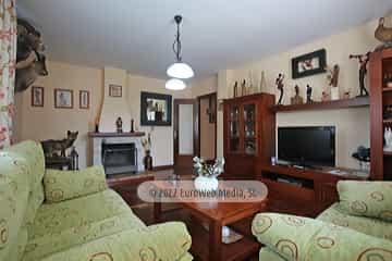 Planta baja: salón. Vivienda vacacional Villa Ruiz