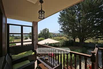 Planta baja: terraza. Vivienda vacacional Villa Ruiz