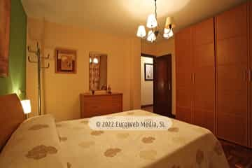 Planta primera: habitación 2. Vivienda vacacional Villa Ruiz
