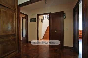 Planta primera: recibidor. Vivienda vacacional Villa Ruiz