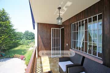 Planta primera: terraza. Vivienda vacacional Villa Ruiz