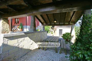 Parrilla. Casa rural Casa Miyares