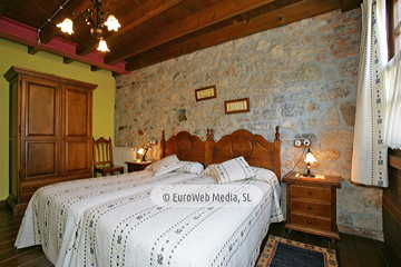 Habitación Ablanu. Hotel rural Los Texos