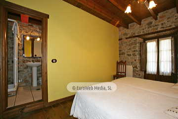 Habitación Castañar. Hotel rural Los Texos