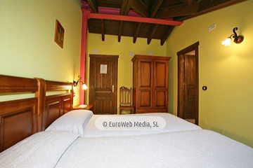 Habitación Manzanal. Hotel rural Los Texos
