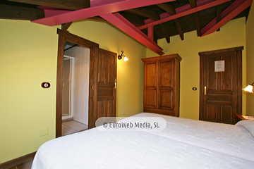 Habitación Nogal. Hotel rural Los Texos