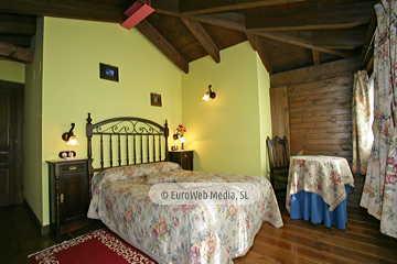 Habitación Roble. Hotel rural Los Texos
