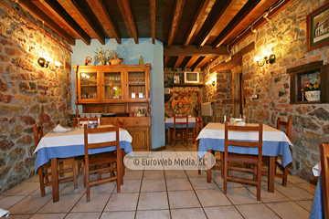 Comedor. Hotel rural Los Texos