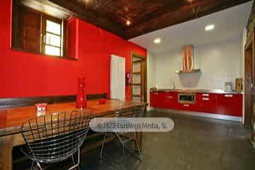 Cocina. Casa de aldea Palacio de Ardaliz