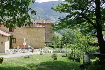 Terraza. Casa de aldea Palacio de Ardaliz