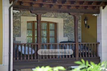 Habitación principal. Casa rural La Faya