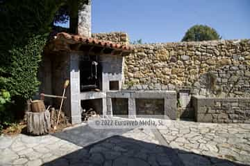 Baño. Casa rural La Faya
