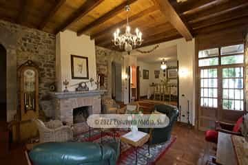 Corredor. Casa rural La Faya