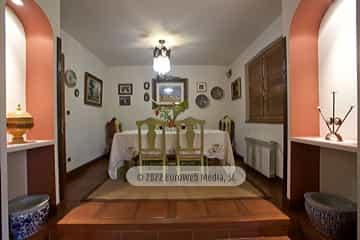 Exteriores. Casa rural La Faya