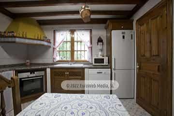 Cocina. Casa rural La Faya