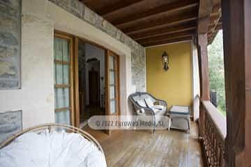 Galería anterior. Casa rural La Faya