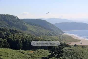 Monumento Natural Isla de Deva y Playón de Bayas