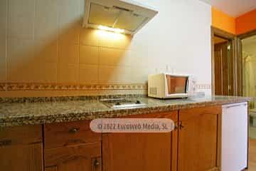 Apartamento modelo 1. Apartamentos turísticos El Horriu