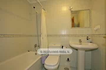 Apartamento modelo 2. Apartamentos turísticos El Horriu