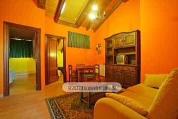 Apartamento modelo 3. Apartamentos turísticos El Horriu