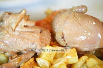 En Santullano, concejo de Las Regueras. Jornadas gastronómicas del Pote y del Pitu Caleya de Las Regueras